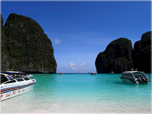 世界のベスト・ビーチ100にピーピー島マヤ・ベイとリペ島サンライズ・ビーチがランクイン!