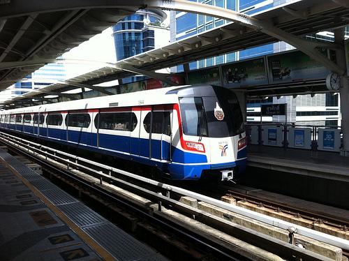 スカイトレイン(BTS/高架鉄道)の料金が値上げ/2013年6月1日~
