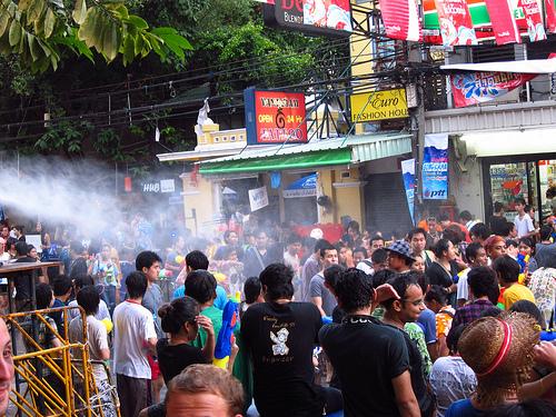 2014年タイ旧正月・ソンクラーン(水かけ祭り)