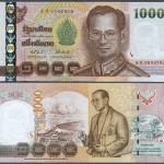 偽造紙幣「偽1000バーツ札」に関する注意喚起