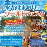 第14回水かけまつり&ワールドフェスタ2015 / 2015年8月7日(金)~9日(日)